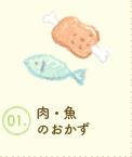 肉・魚のおかず