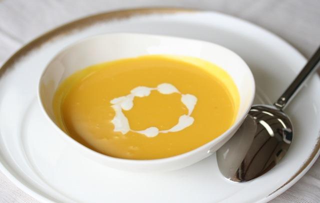 かぼちゃのハニースープ