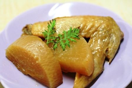 大根と鶏肉のはちみつ煮