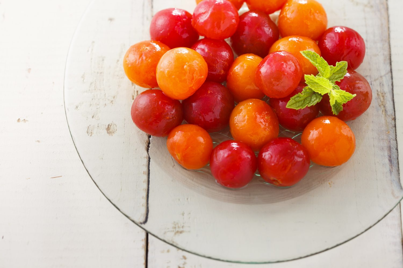 ミニトマトのはちみつマリネ