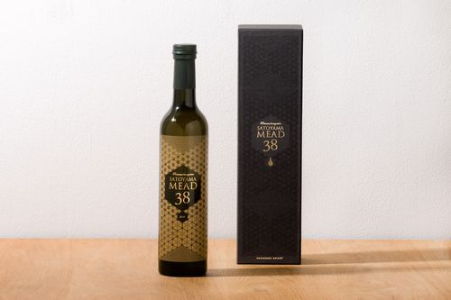 「SATOYAMA MEAD38」(蜂蜜酒)を開発・販売開始しました。