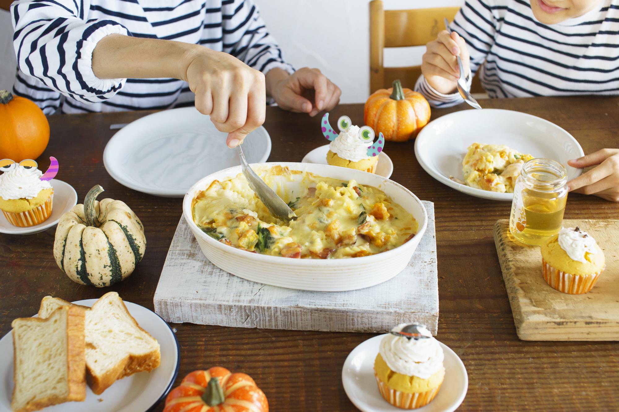 ほくほくかぼちゃと「二代目の蜂蜜」を使った簡単ハロウィンレシピ